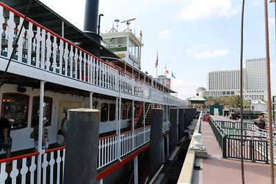 Natchez Paddle Wheel Boat Ride on Mississippi River - New Orleans, LA