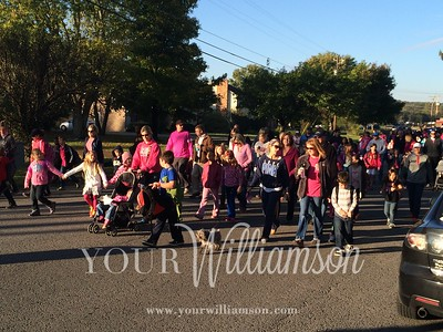 Nolensville Elementary Walk to School Day