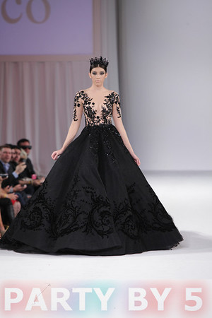 Style Fashion Week LA - Closing - Michael Cinco - Runway