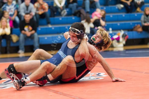 Wheaton College Wresting vs Elmhurst, November 13, 2015