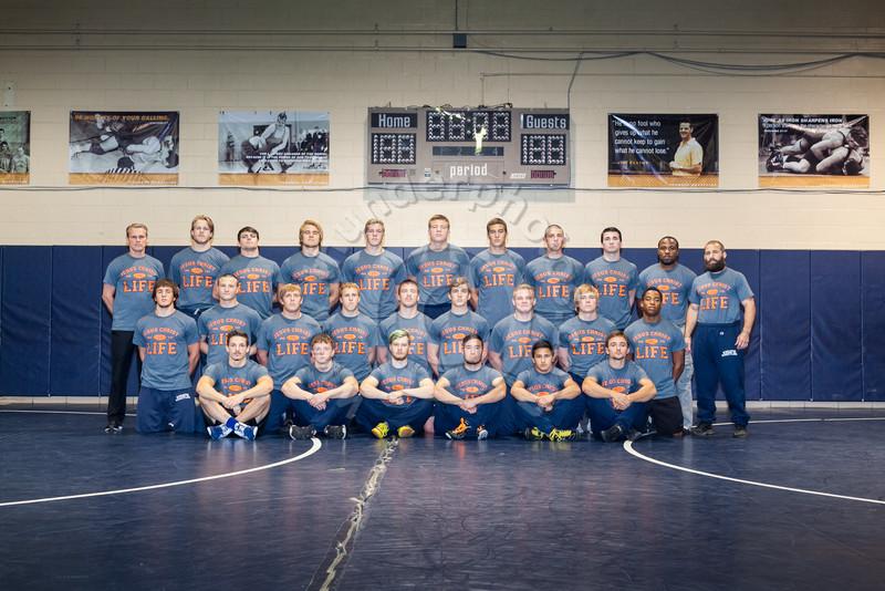 Wheaton College 2015-16 Wrestling Team