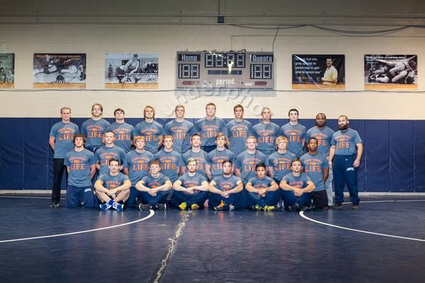 Wheaton College Wrestling 2015-16