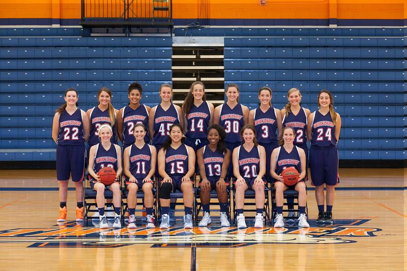 Wheaton College 2015-16 Women's Basketball Team