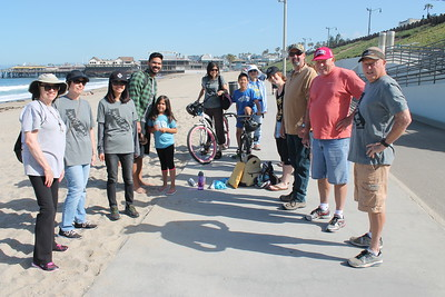 South Bay Beach Clean-up April 23rd 2016
