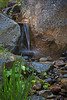 Waterfall<br /> Big Springs Resort<br /> Sierra City, California<br /> 0908BS-W4