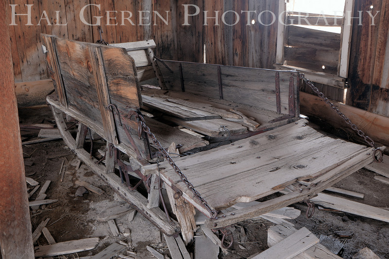 Sleigh<br /> Patchwork Wall<br /> Bodie, California<br /> 1005T-BH10
