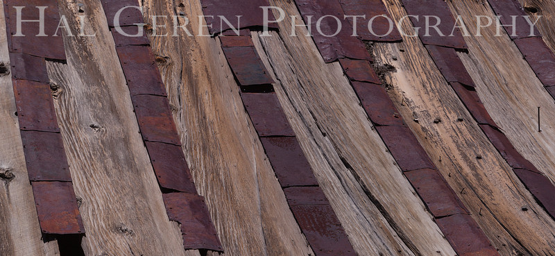 Roof Detail<br /> Bodie, California<br /> 1207B-RP1A