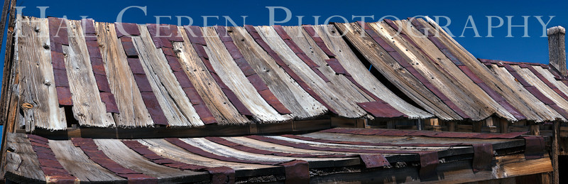 Patched Roof<br /> Bodie, California<br /> 1207B-RP2