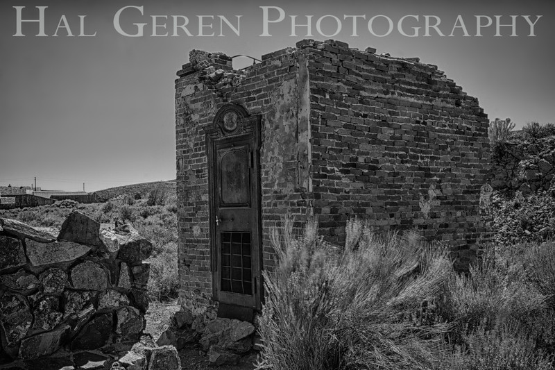Old Bank Vault<br /> Bodie, California<br /> 1207B-BH12A