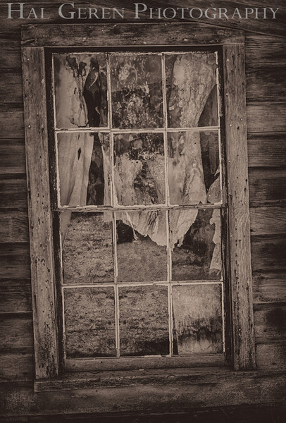 Curtain Decay<br /> Bodie, California<br /> 1207B-WH1BW1