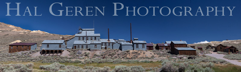 The old Bodie Gold Mine<br /> Bodie, California<br /> 1207B-BMP1