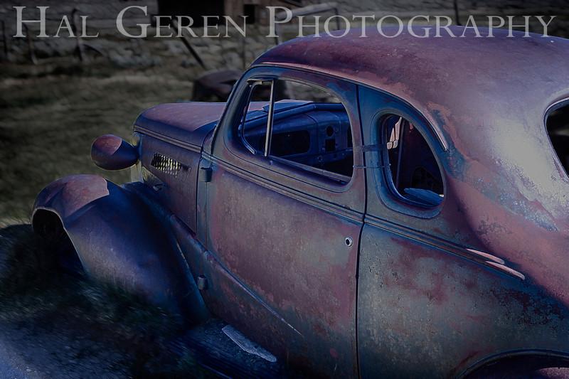 Abandoned Car<br /> Bodie, California<br /> 1207B-CH1AE2