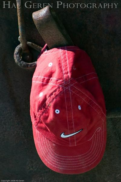 A Happy Hat<br /> Empire Mine, Nevada City, California<br /> 0806E-HH1