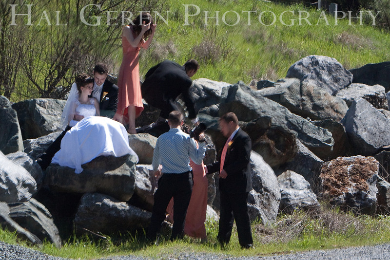 Roadside Wedding Party<br /> Marysville, California<br /> 0903W-RWP1