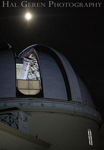 "Lick Observatory; 36"" Scope Mt Hamilton,  Ca 1709A- TTTD1"