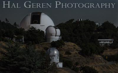 Lick Observatory Mt Hamilton,  Ca 1709A-O1