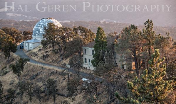 Lick Observatory Mt Hamilton,  Ca 1709A-O7