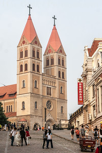 St. Micheal's Cathedral Qingdao, China 1406C-SMC2