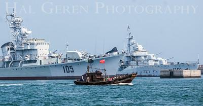 Navel Museum Destroyer Qingdao, China 1406C-D1