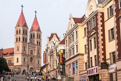 St. Micheal's Cathedral Qingdao, China 1406C-SMC3