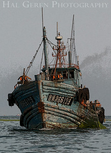 Fishing Boat with Open Net Qingdao, China 1406C-FB1E1