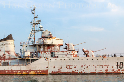 Navel Museum Destroyer - need some work Qingdao, China 1406C-DT2