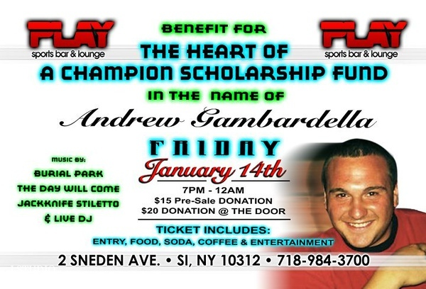 AndrewGambardellaTHE HEART OF A CHAMPION' SCHOLARSHIP FUND