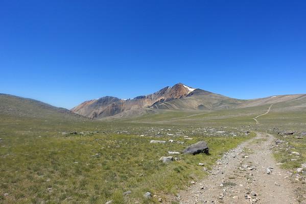 Campito Mtn (11,543) / White Mtn Peak (14,252 [x4]) -  July 23-24, 2016