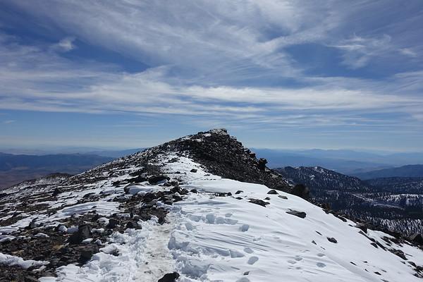 Mt. Rose (10,778) - Sept 25, 2017
