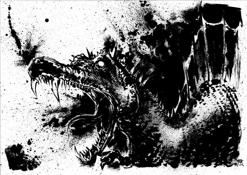 Spinosaurus, attack!