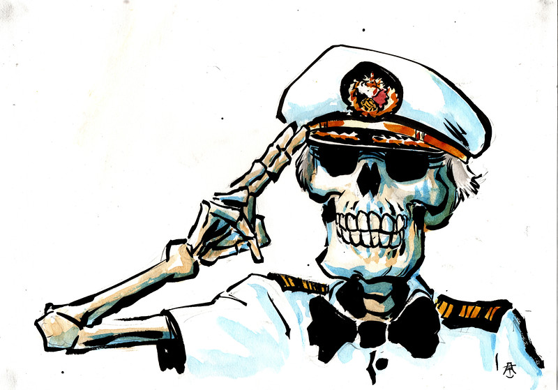 Captain Stubing, Loveboat of the Dead.