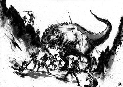 Giganotosaurus Hunt