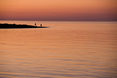 After sunset - Qualicum beach