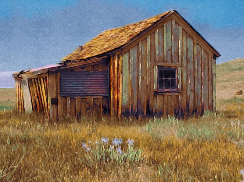 Old Shack, Bodie, CA