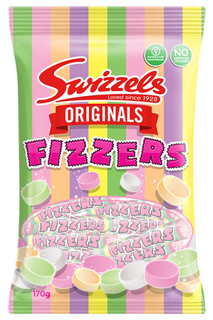 82351 Originals Fizzers 170g Bag