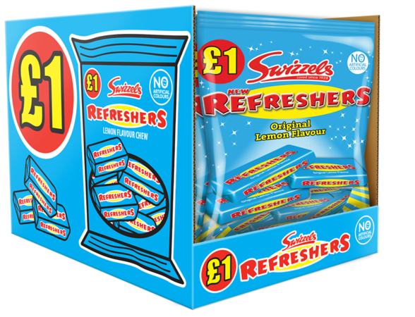 77320 New Refreshers Bag 150g SRP