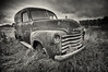 Old Chevrolet Panel Truck