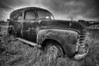 Old Chevrolet Panel Truck