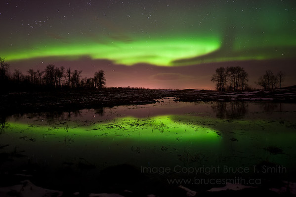 Spring Aurora Reflection