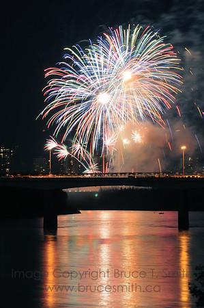 Canada Day 2008 Fireworks
