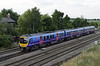 185106, Colton Junction, Fri 26 July 2013 - 1830.  First TransPennine Express's 1702 Newcstle - Manchester Airport.