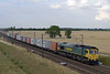 66556, 4L79, Colton Junction, Fri 26 July 2013 - 1817.  The 1540 Wilton - Felixstow Freightliner.