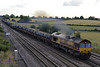 66012, 6N75, Colton Junction, Fri 26 July 2013 - 1819.  DB Schenker's 1533 Aldwarke - Tees Dock steel.