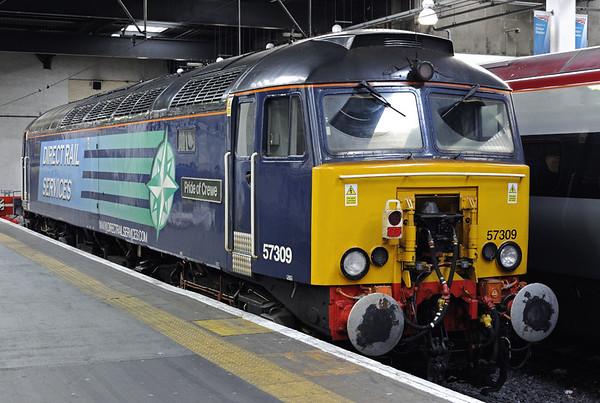 57309 Pride of Crewe, Euston, Mon 26 January 2015 - 1315