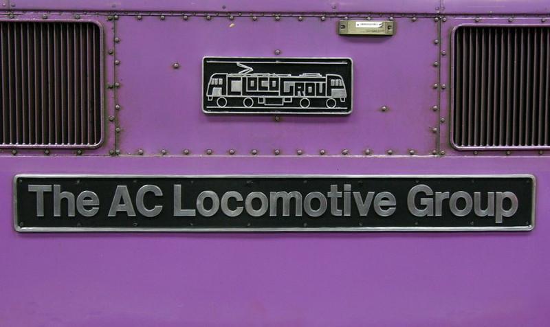 87002 The AC Locomotive Group, Euston, 13 May 2005 - 1432 2