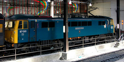 Euston electric locos, 2005