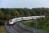 800024, Hitachi Rail Europe assembly plant, Newton Aycliffe, Tues 26 September 2017 1.  The GWML five-car bi-mode IET seen earlier enters the plant from Merchant Park Junction.