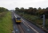 Merchant Park Junction, Newton Aycliffe, Tues 26 September 2017 1.  Looking south towards Darlington as  142097 approaches with Northern's 2D35 1554 Darlington - Bishop Auckland.  800024 is conducting tests in the distance.