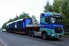 Car 441015 (385015), Hitachi Rail Europe assembly plant, Newton Aycliffe, Tues 26 September 2017 1.  The ScotRail EMU car arrives from Teesport.