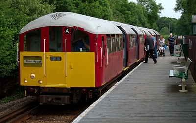 Island line, Isle of Wight, 2008